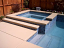 Helps keep your concrete pool deck cooler!