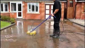 Cleaning Block Paving