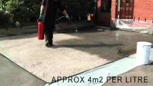 Cleaning and sealing Tarmac Red