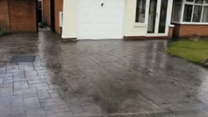Cleaning & Sealing Pattern Imprinted Concrete